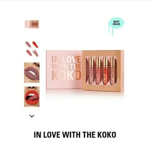 """In Love With The KOKO"" matte liquid lipstick set"
